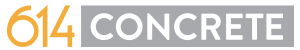 614 Concrete Logo
